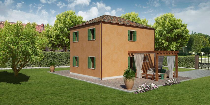 Colore casa esterno top pittura esterna with colore casa - Pitturare legno senza carteggiare ...