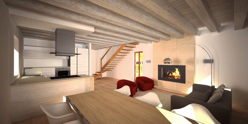 Modello marina 135 m2 casa in legno con tetto a 2 falde for Tetti di case moderne