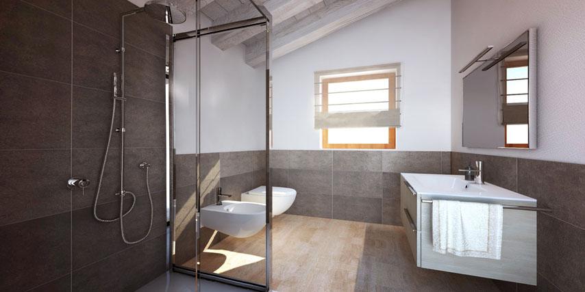 Good modello burano m casa in legno con tetto a falde a for Costo ampliamento in legno