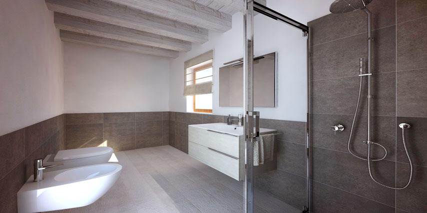 Modello riviera 170 m2 casa in legno con tetto a 2 falde a partire da - Legno sbiancato tetto ...