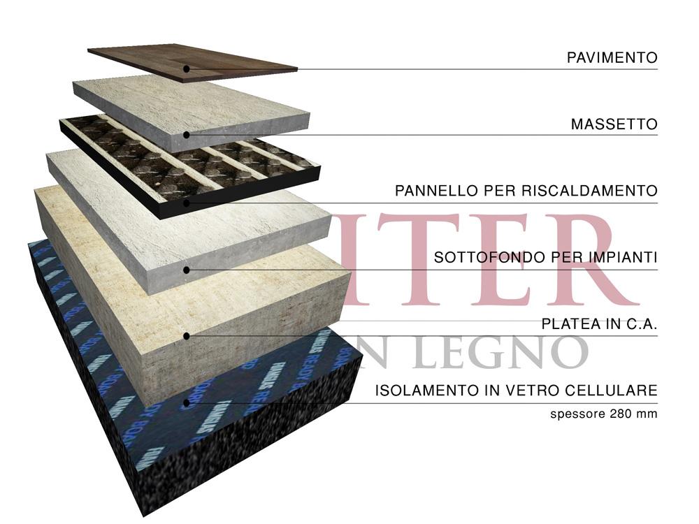 Modello pellestrina 100 m2 casa in legno con tetto a 2 for Piano casa per 1000 piedi quadrati