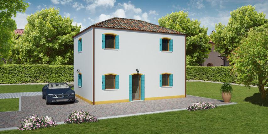 Configura La Tua Casa In Legno Modello Murano Da 137 200