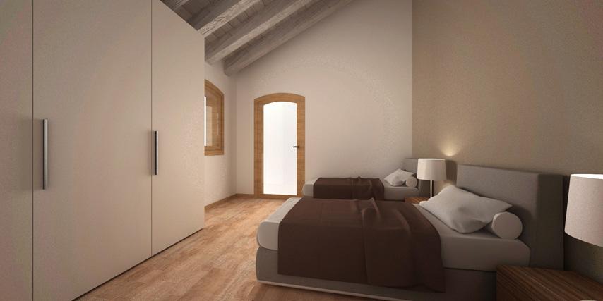 Modello marina 135 m2 casa in legno con tetto a 2 falde for Casa moderna con tetto in legno
