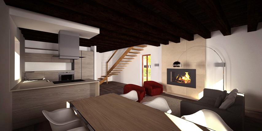 Modello canaletto 135 m2 casa in legno con tetto a 4 for Casa moderna con tetto in legno